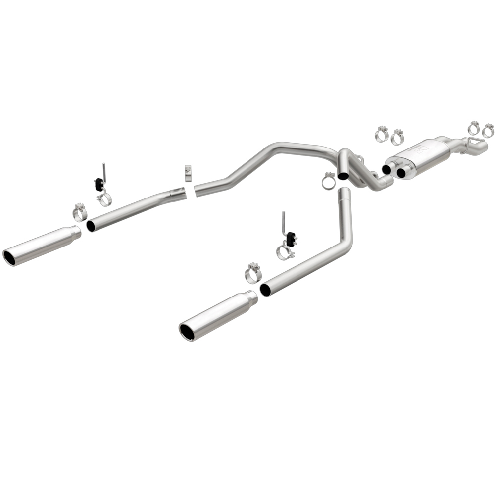2005 GMC Sierra Cat Back Performance Exhaust from Car