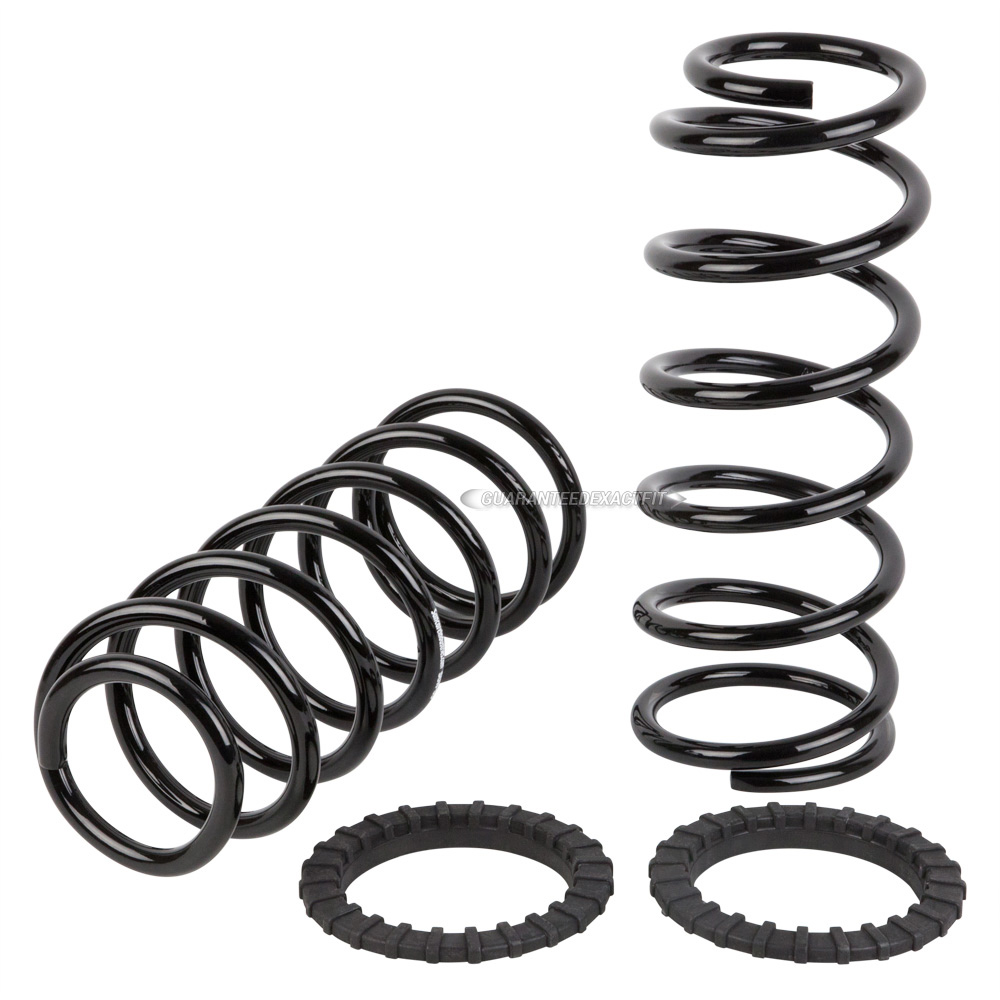 2003 Lexus GX470 Coil Spring Conversion Kit Rear