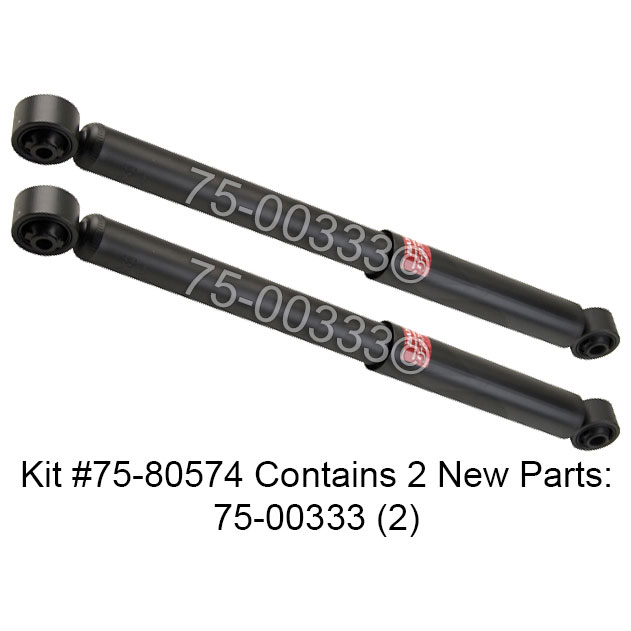 2005 Buick Terraza Shock and Strut Set from Car Parts