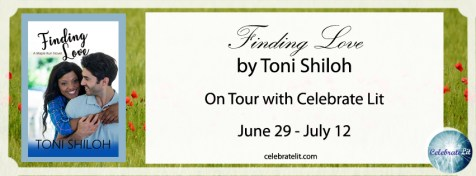 Toni Shiloh's FINDING LOVE on tour with Celebrate Lit