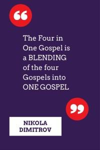 Author Nikola Dimitrov explains the Four in One Gospels of Jesus on CarpeDiem.fyi