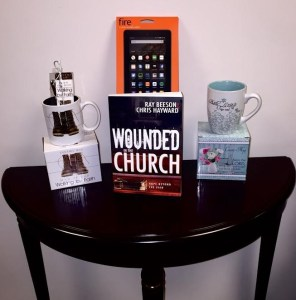 Special give away featured with Wounded in the Church on tour with Celebrate Lit