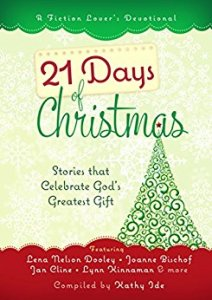 21 Days of Christmas, seasonal devotionals on tour with Celebrate Lit and featured on CarpeDiem.fyi