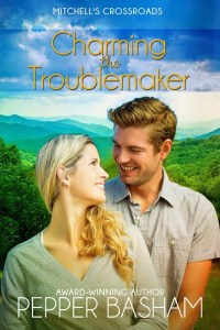 Charming the Troublemaker by Pepper Basham, on tour with Celebrate Lit and featured on CarpeDiem.fyi