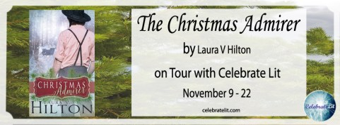 The Christmas Admirer, Amish Romance, on tour with Celebrate Lit and featured on CarpeDiem.fyi.