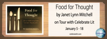 Food for Thought on tour with Celebrate Lit and featured on CarpeDiem.fyi