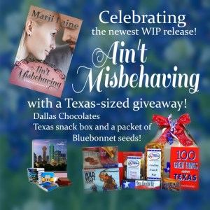 Give Away for Ain't Misbehaving on tour with Celebrate Lit and featured on CarpeDiem.fyi