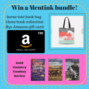 GiveAway for Dana Mentink, author of Cowboy Bodyguard on tour with Celebrate LIt and featured on CarpeDiem.fyi