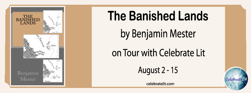 The Banished Lands on tour with Celebrate Lit and featured on CarpeDiem.fyi