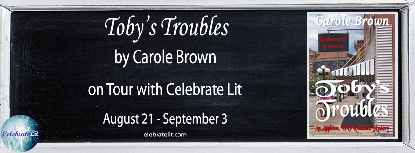 Toby's Troubles on tour with Celebrate Lit and featured on CarpeDiem.fyi