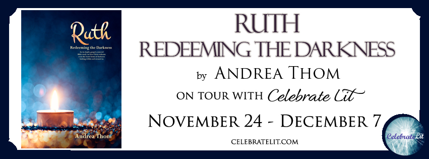 Ruth: Redeeming the Darkness on tour with Celebrate Lit and featured on CarpeDIem.fyi