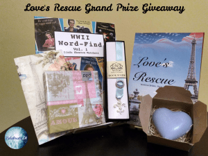 Give away for Linda Shenton Matchett, author of Love's Rescue on tour with Celebrate Lit and featured on CarpeDiem.fyi