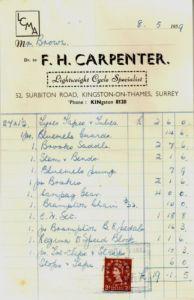 Receipt 2 1-5-1959