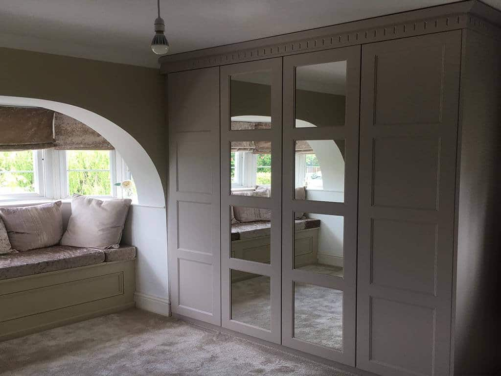 Aldridge cashmere mirrored wardrobe