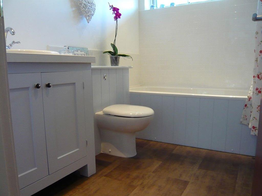 Bath room Sink unit carpentry Norfolk