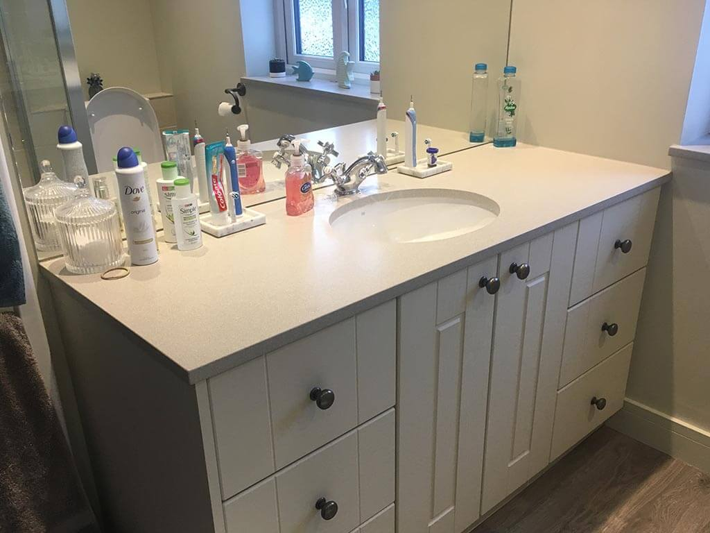 Bath room Sink unit carpentry Norwich