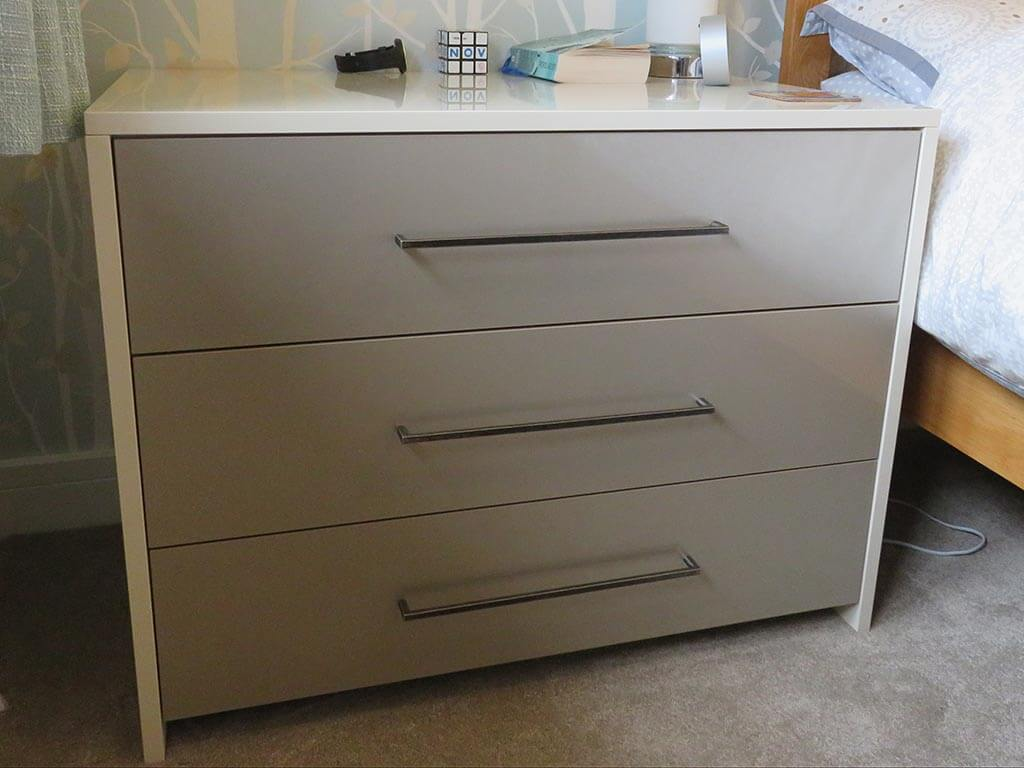 Bedroom Carpentry bespoke drawers Norwich
