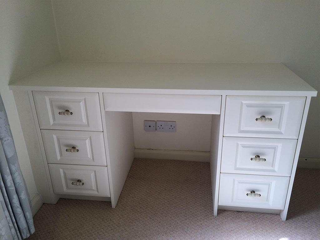 Bedroom Carpentry hand made drawers Norwich