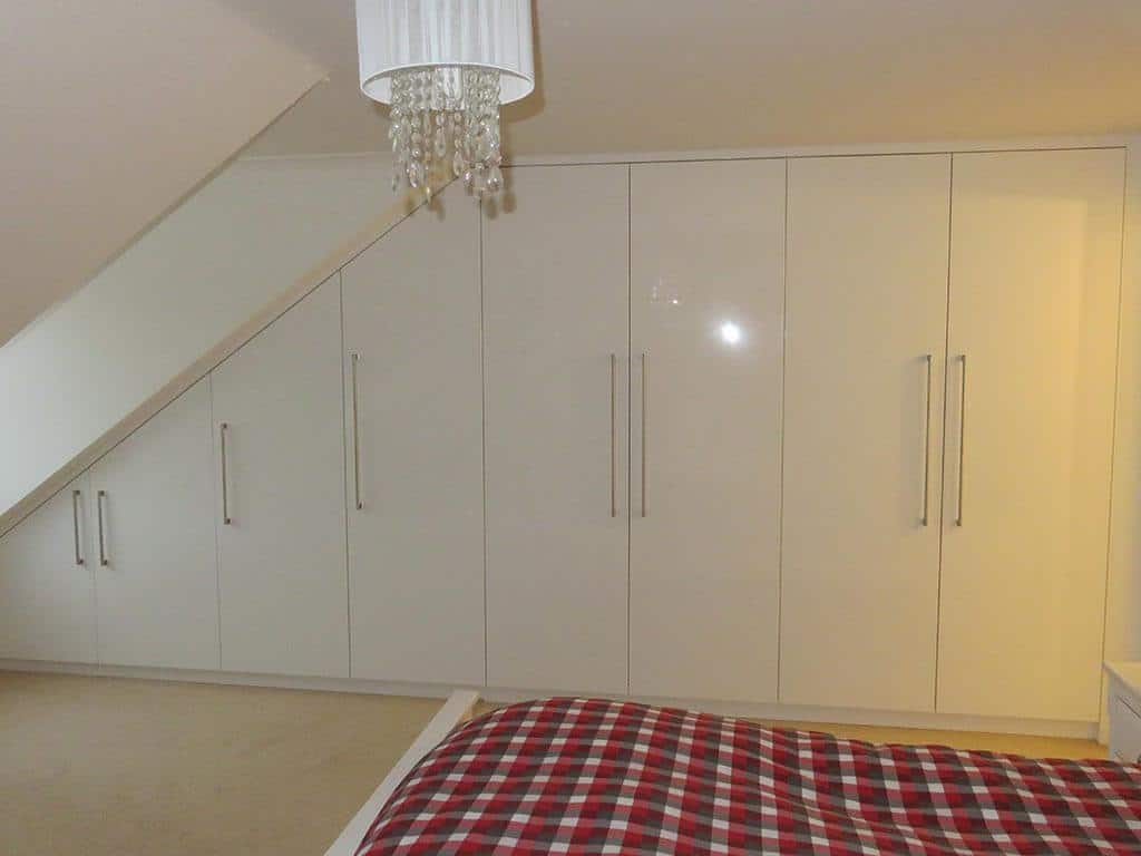 Bedroom Carpentry sloped wardrobes Norwich