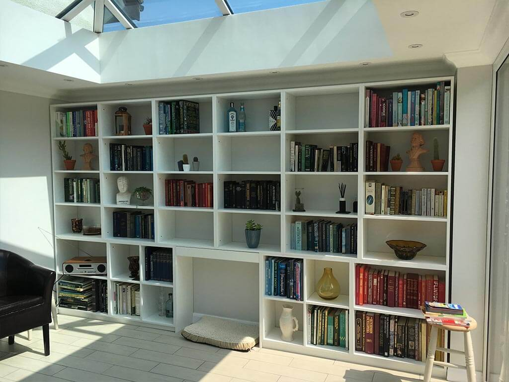Bespoke Bookshelf Wall Units Norwich Carpenter