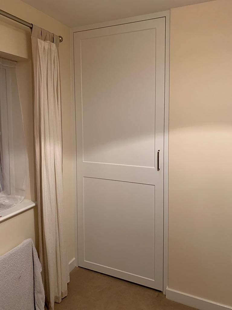 Built in cupboard