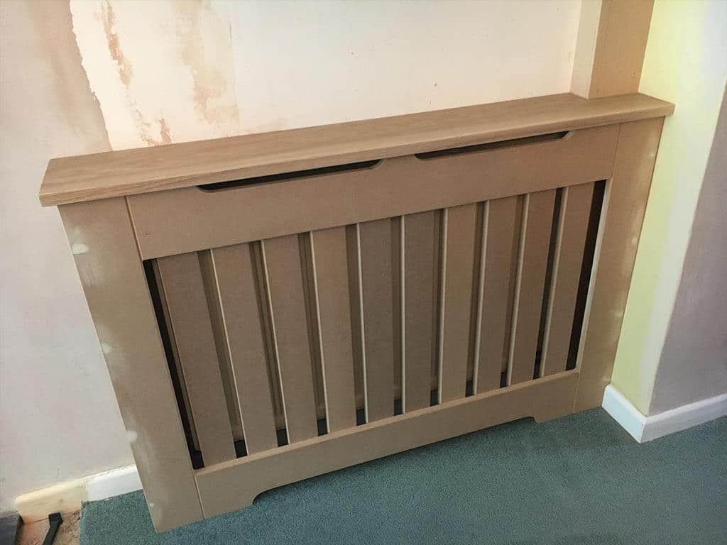 Hand Made MDF Radiator Cover Norwich Carpenter