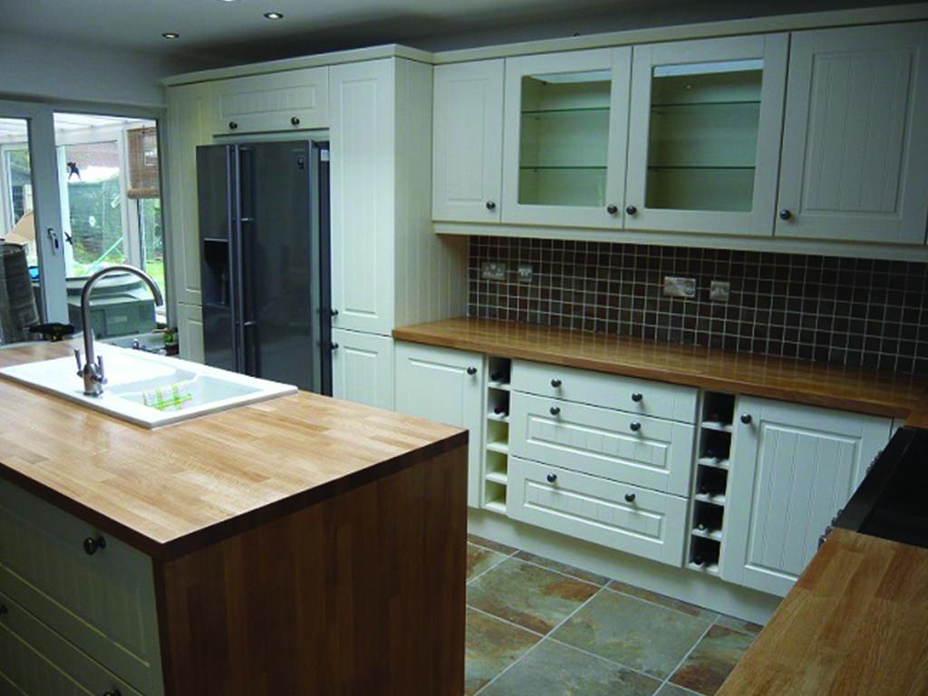 Newton Foltman Carpenter Bespoke Wooden Kitchen
