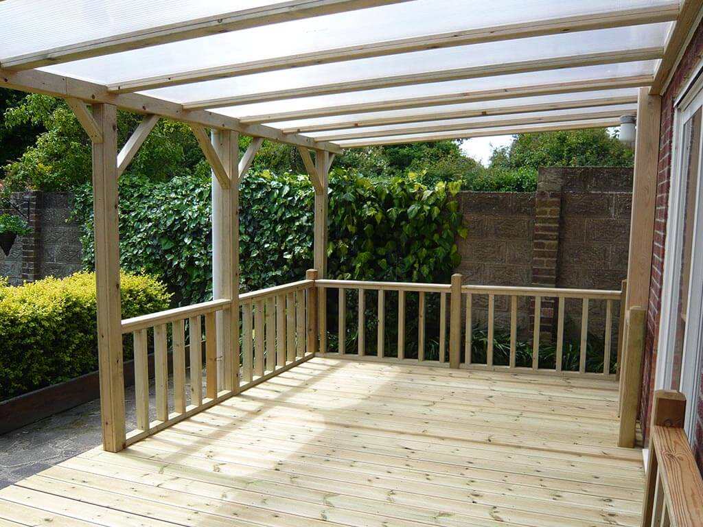Norwich Carpenter Decking and Handrail