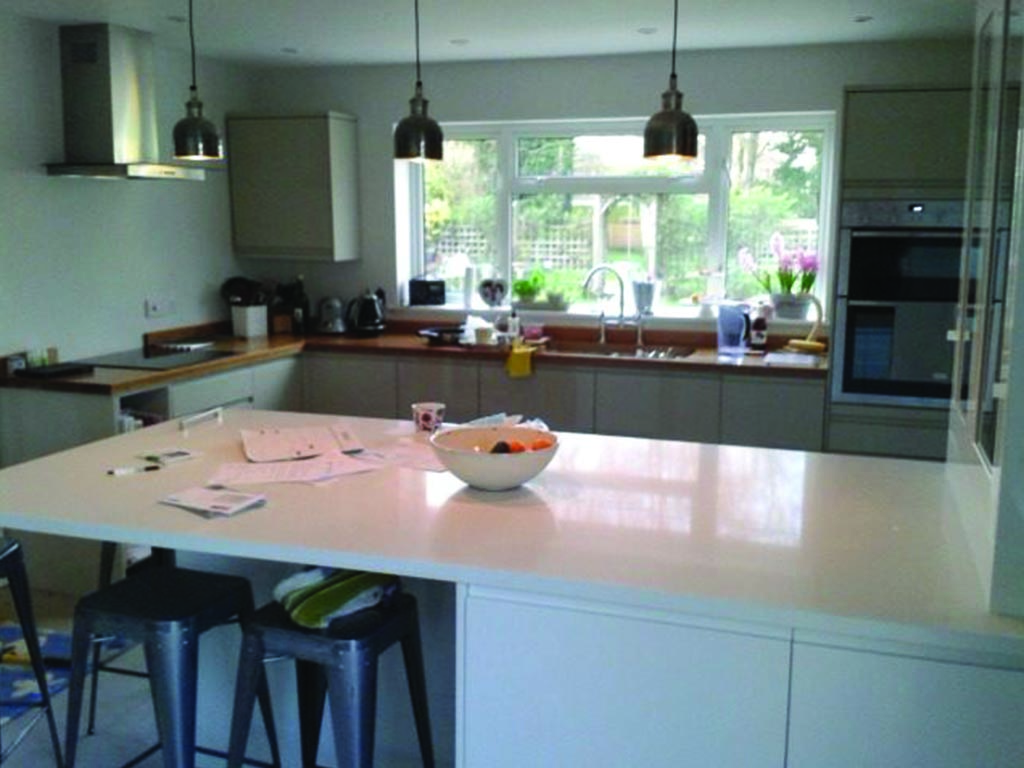 Norwich Carpenter Fitted Kitchen and worktop