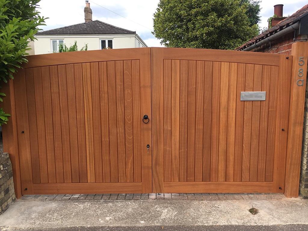 Norwich Carpenter Wooden Entrance Gates