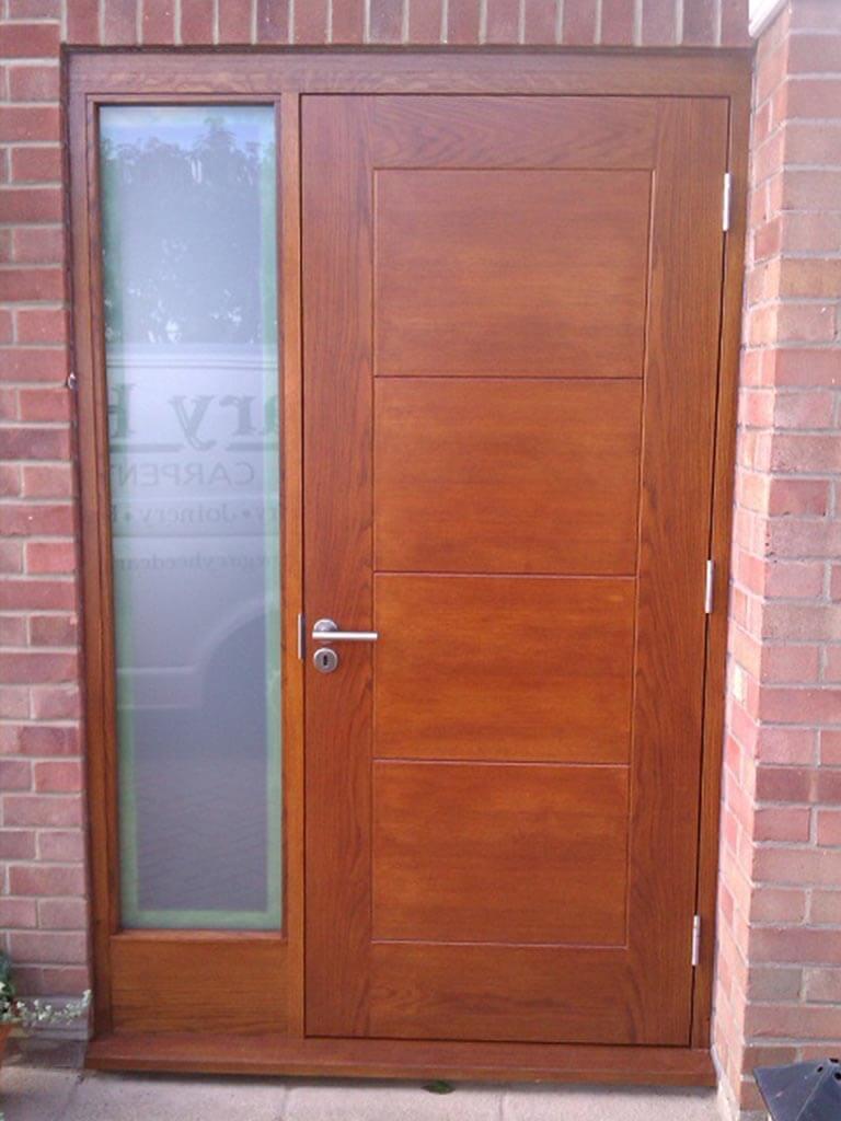 Norwich Carpenter Wooden Modern Front Door