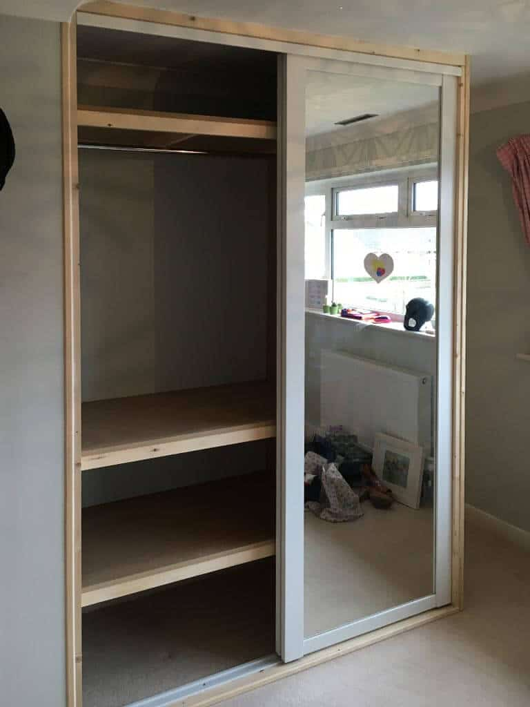 Wardrobe internal shelving Norwich Carpenter