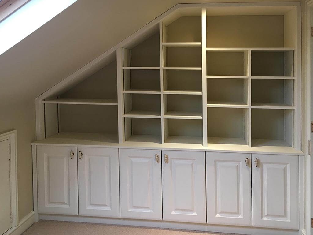 York Alabaster shelving unit