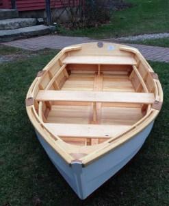 new monhegan skiff - cedar lapstrake
