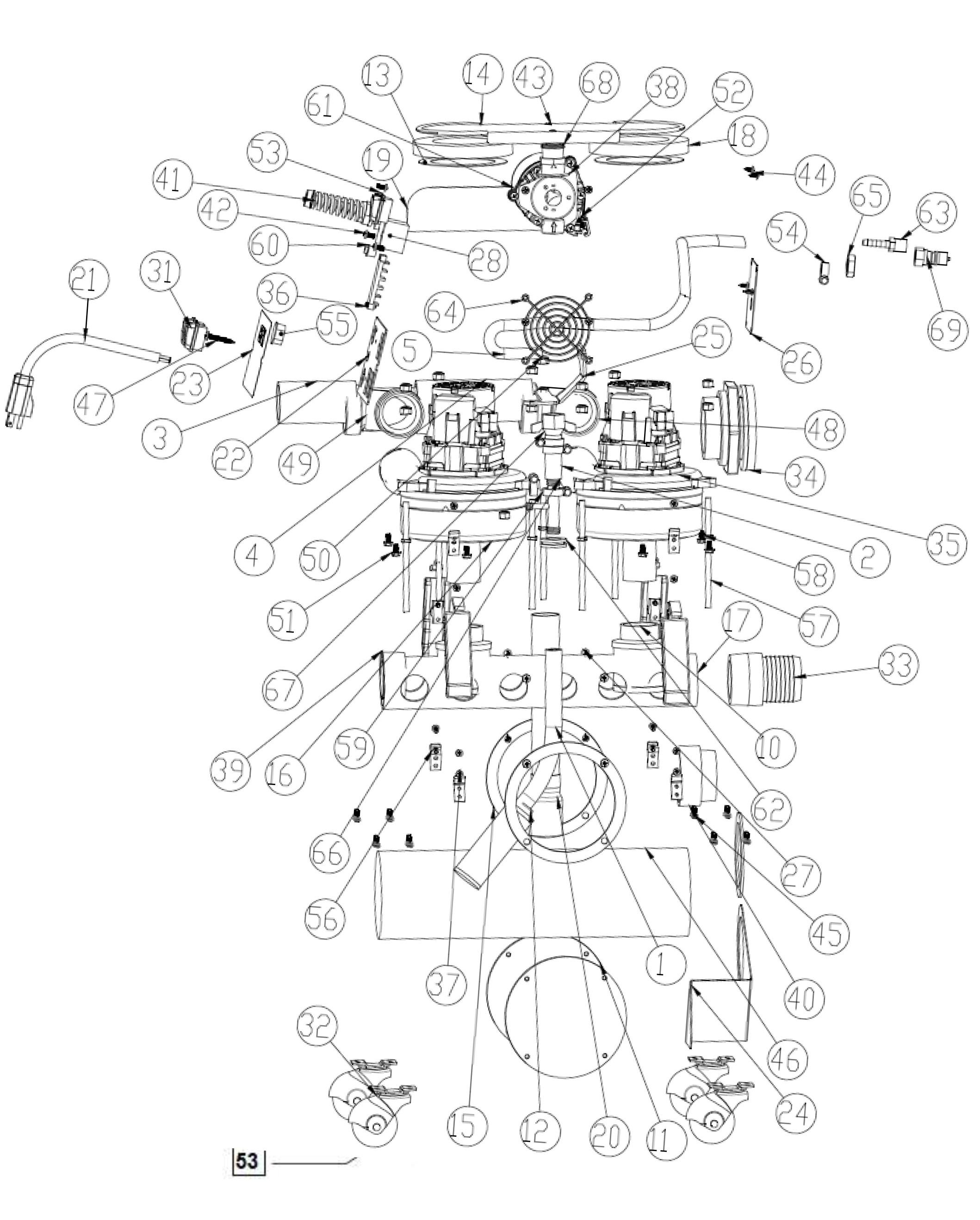 Rotovac CFX Parts