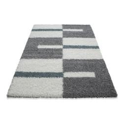 https www carpet1001 de fr tapis shaggy 1193 tapis de salon a poils longs poils longs hauteur 3 cm gris blanc turquoise html