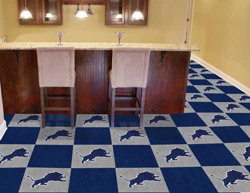 NFL Carpet Tiles  Man Cave Flooring  Team Carpet