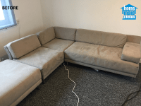 End of tenancy cleaning and velvet sofa cleaning, London