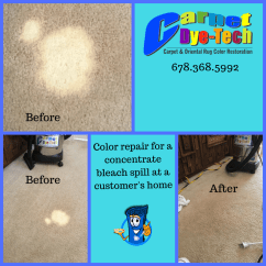 Leather Sofa Repair Charleston Sc Best Bed In London Bleach Damaged Stain Recolor Carpet - Dye ...