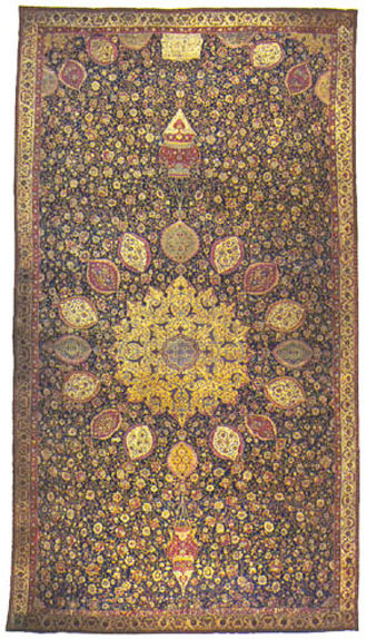 The famous Ardabil-carpet.
