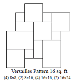 versailles pattern travertine