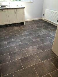 Karndean Knightile Cumbrian Stone with Chalk design strips