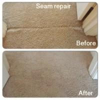 Seam split | Carpet Repair Houston | Carpet Stretching ...