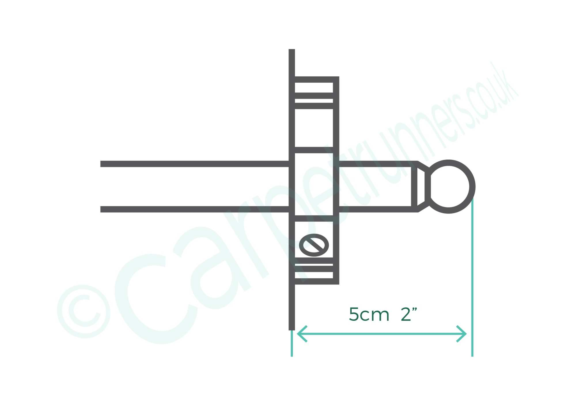 hight resolution of brass premier stair rods and how to measure