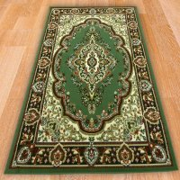 Green Classic Traditional Rug - Carpet Runners UK