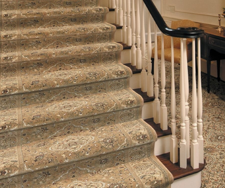 Buy Capella By Stanton Polypropylene   Stanton Carpet Stair Runners   Light Grey   Craftsman   Stairway   Leopard   Popular