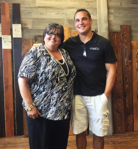 Locust with Ryan Palma, owner, Sustainable Lumber Company, Missoula, MT