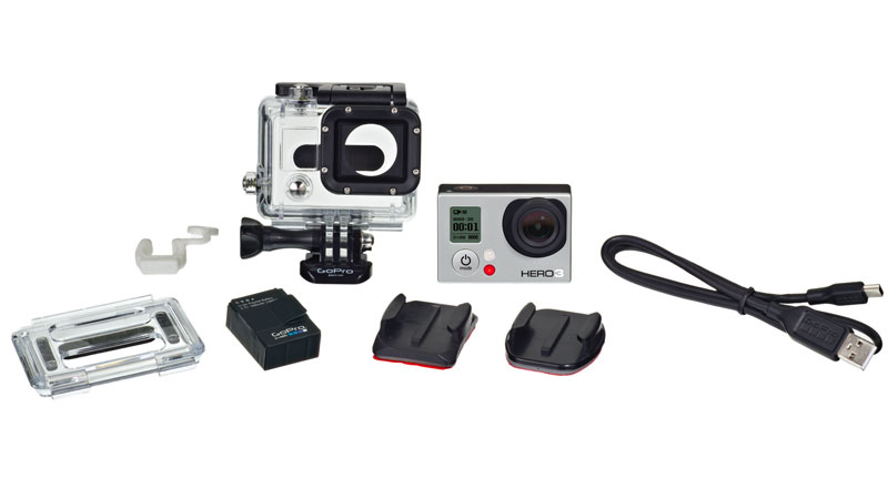 GoPro CHDHE-301 GoPro HD HERO 3 WHITE Edition