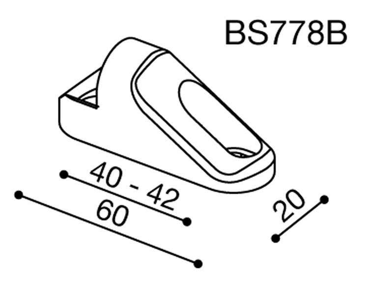 Rizoma Mirror Adapter BS778B