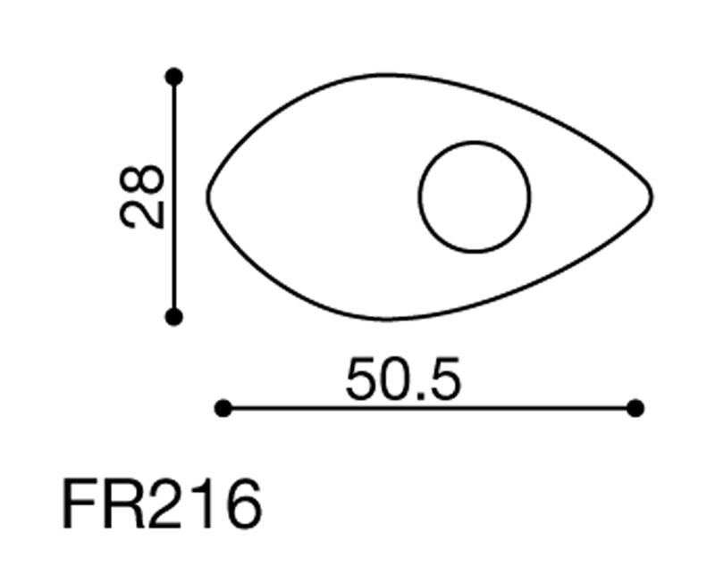 Rizoma Indicator Mounting Adapters FR216B